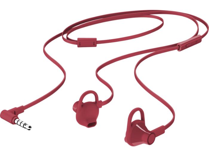 HP E Red Doha InEar Headset
