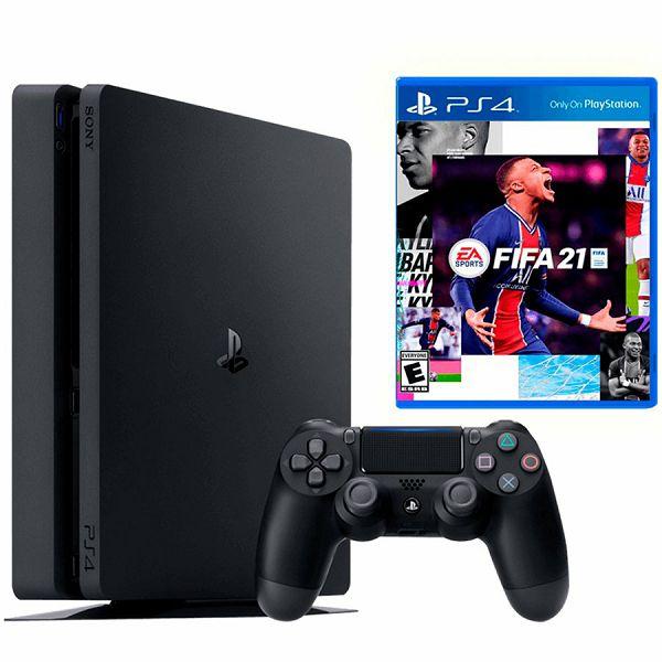 PlayStation 4 500GB+FIFA 21 VC
