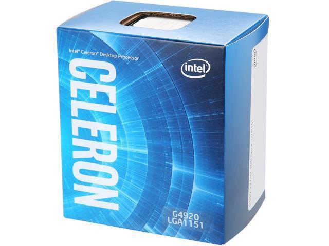 Intel Celeron Dual-Core G4920