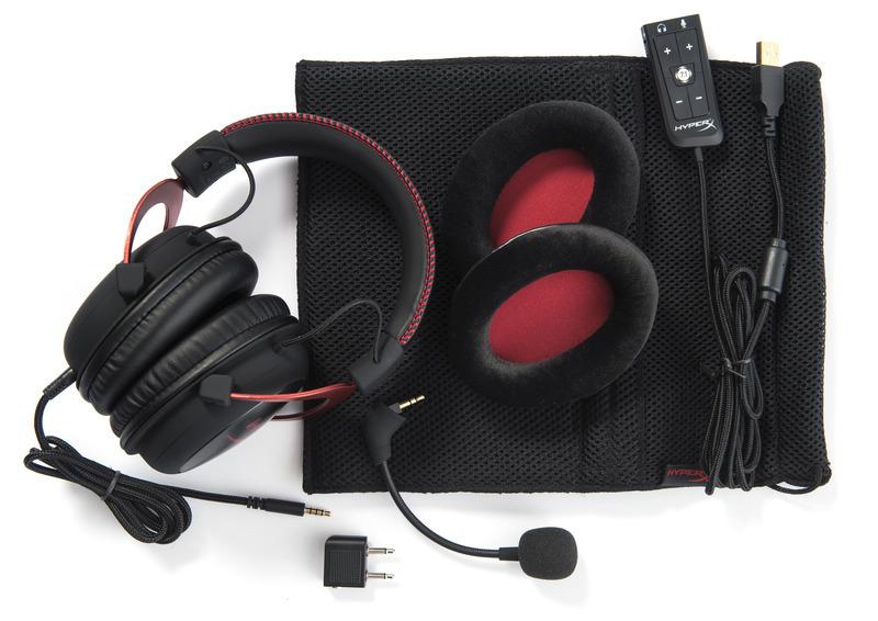 HyperX Cloud II headset Red