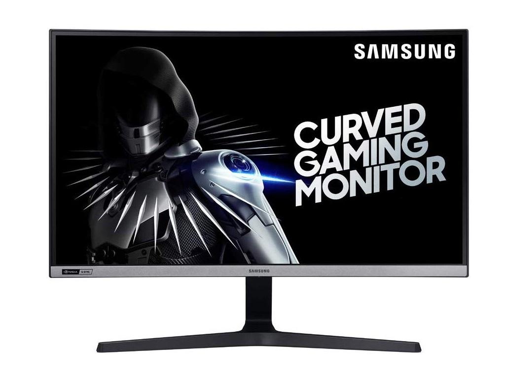Zakrivljeni Samsung monitor