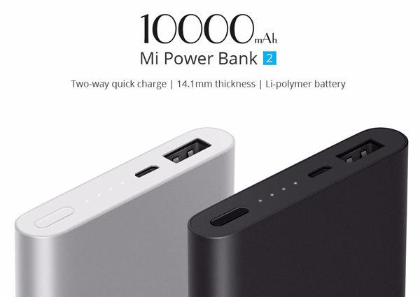 Mi Power bank 10000mAh Silver