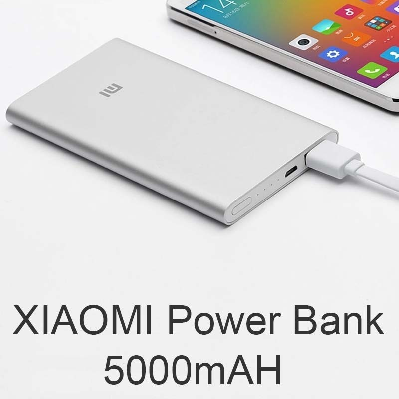 Mi Powerbank 5000mAh Silver