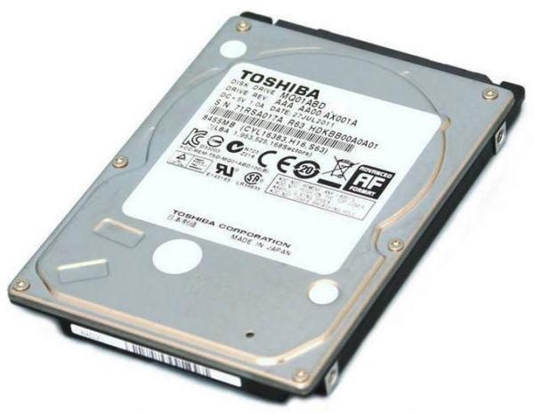 """Toshiba HDD 500GB 2.5"""" Pull"""